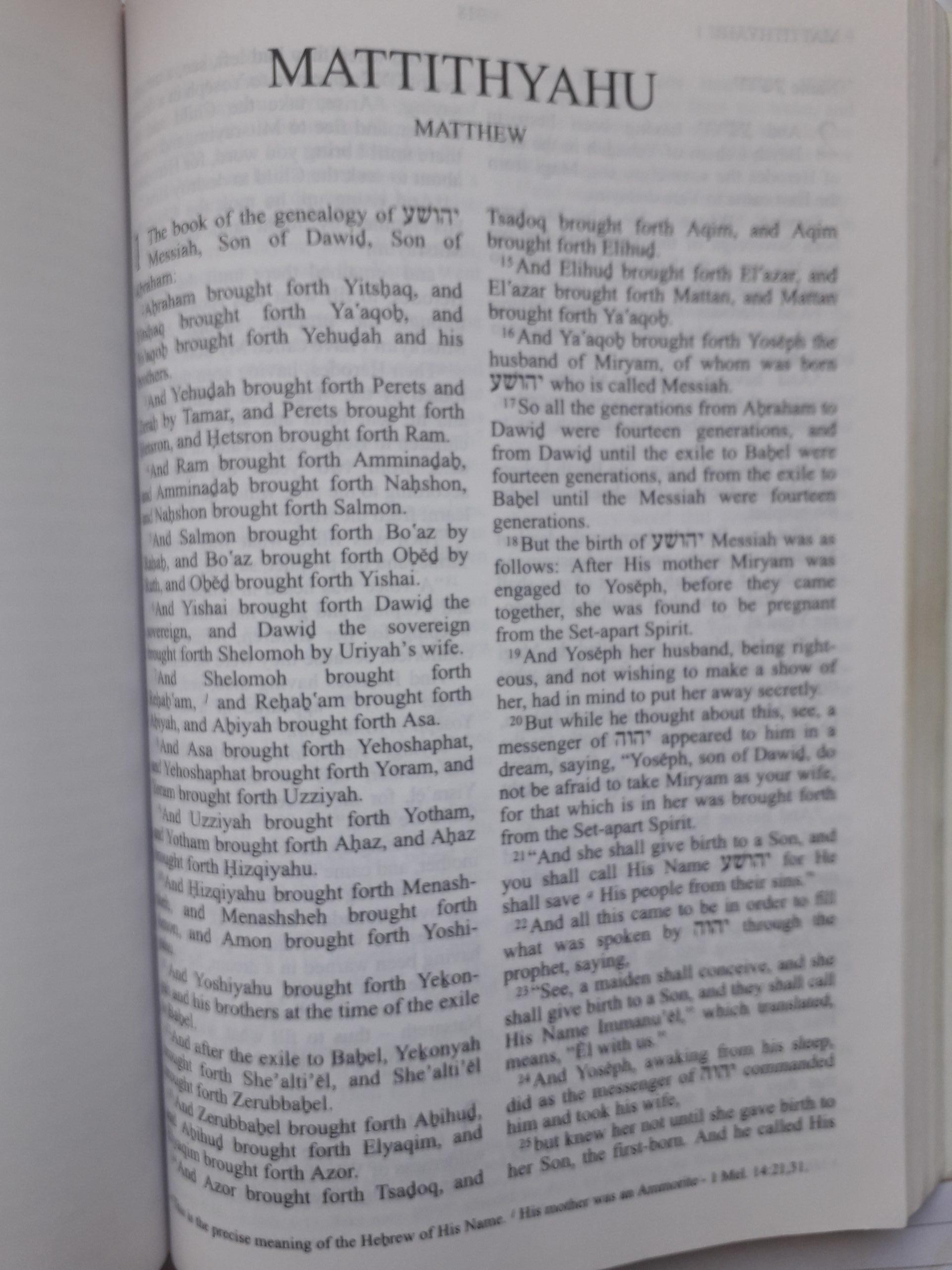 Matthew's Jewish Gospel about a Jewish Messiah