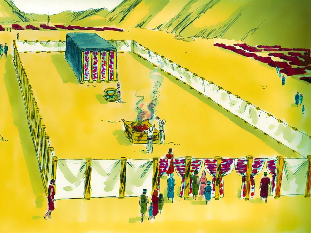 How does the tabernacle foreshadow Yeshua the Messiah?
