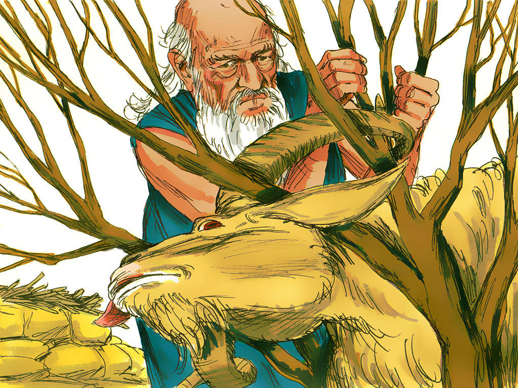 The binding of Isaac foreshadows Messiah's atoning sacrifice