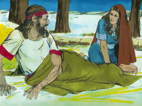 Ruth Chapter 3-Part 2-Ruth waits for Boaz