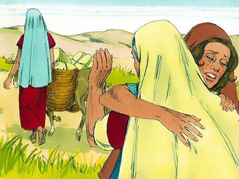 Ruth Chapter 1-Part 3- Ruth arrives in Bethlehem