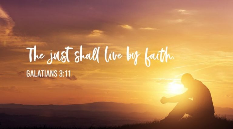 Read more about the article Habakkuk 2:2-20 The just shall live by faith, but God will judge the wicked.